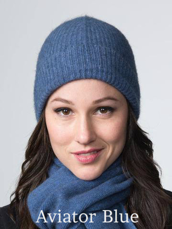 Aviator Blue Fashion Beanie by possumdown