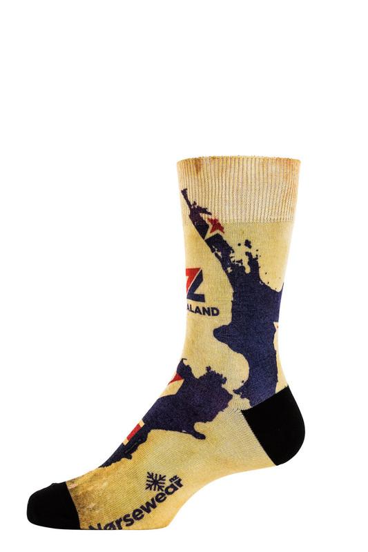 9605 Godzone Printed sock Norsewear