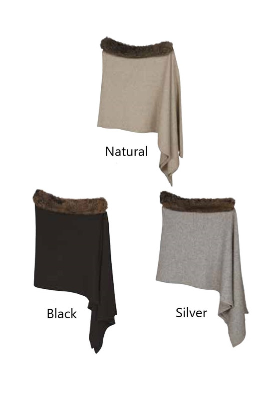 Snowtip Fur Wrap Colour Options