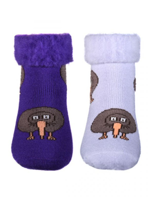 Purple & Lilac Kiwi Bed Sock