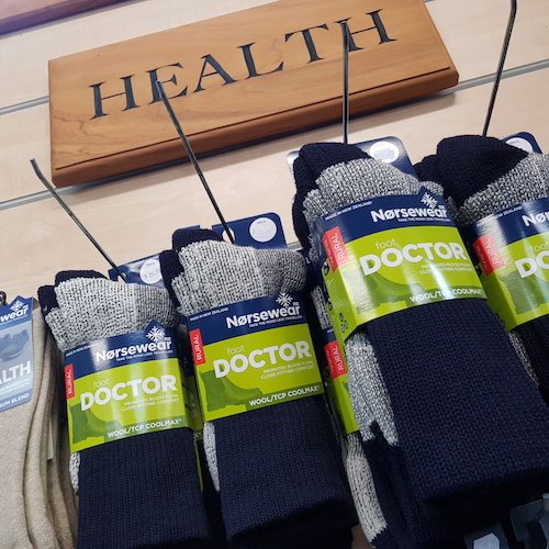 Why we don't sell compression socks, but we sell health socks instead