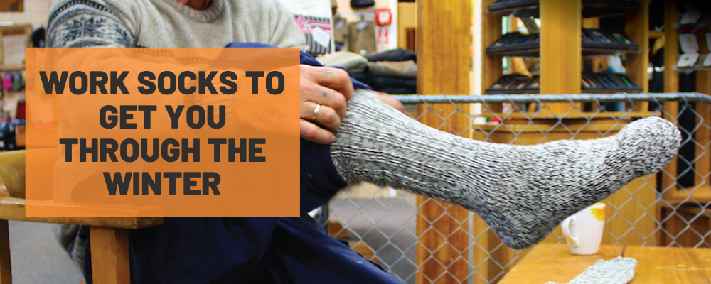 Work socks to get you through the winter