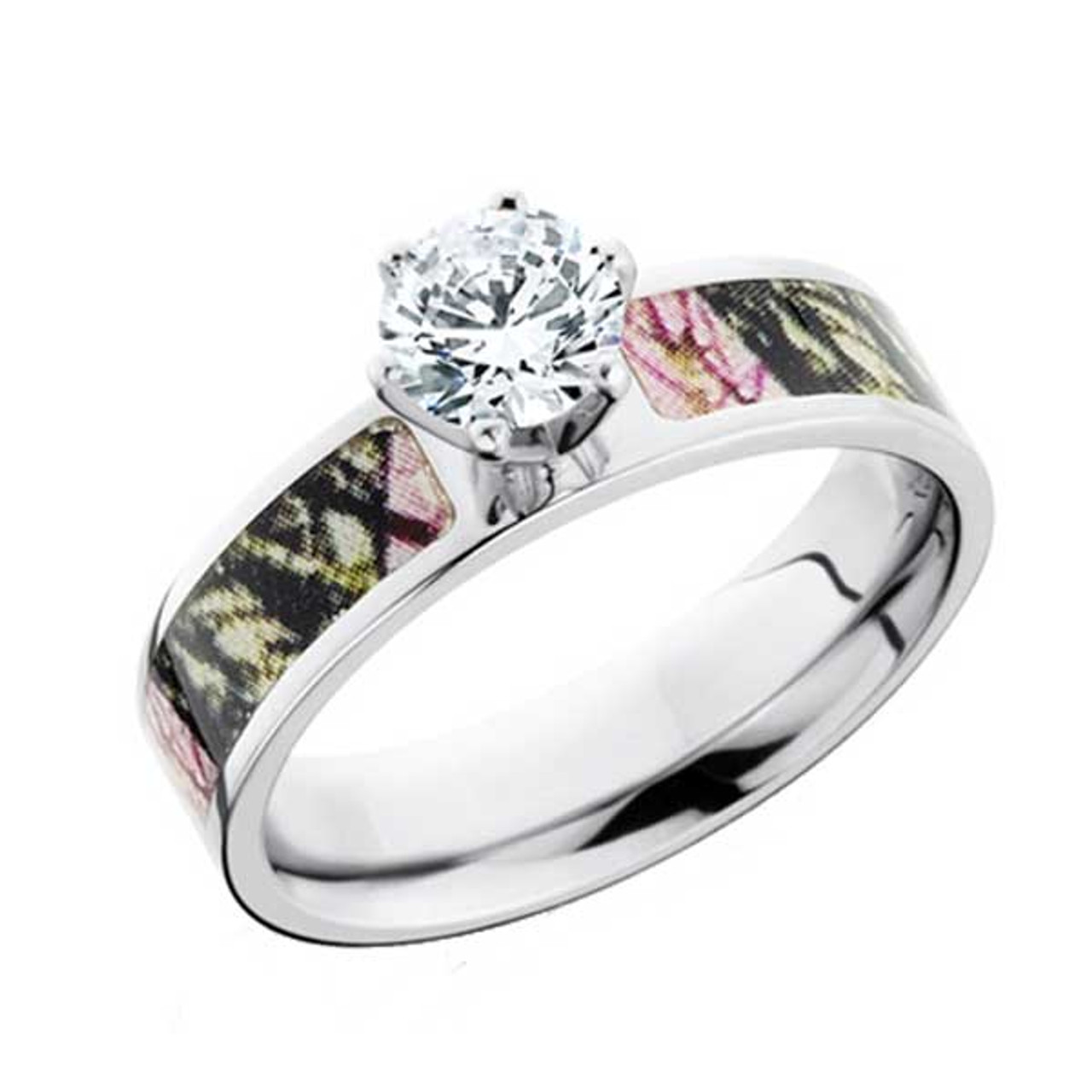 5ad7c8a6b CZ Camo Engagement Ring | Free Shipping | CAMOKIX