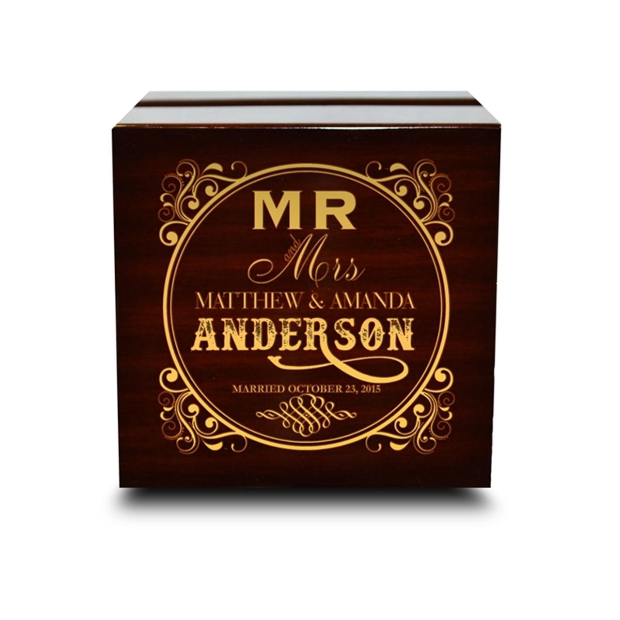 Luxury Wedding Ring Box Camokix