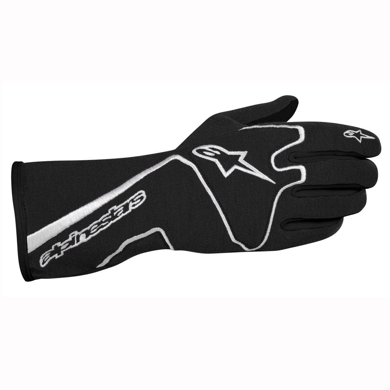 Alpinestars Tech 1 Race Glove -black/white -CLEARANCE