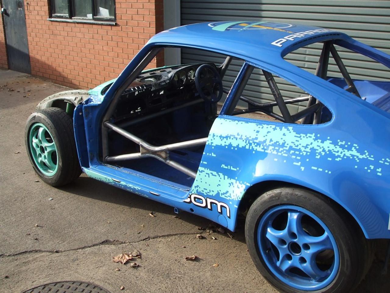 Custom Cages Porsche 911 - Bent Door Bars - Historic  [T45]