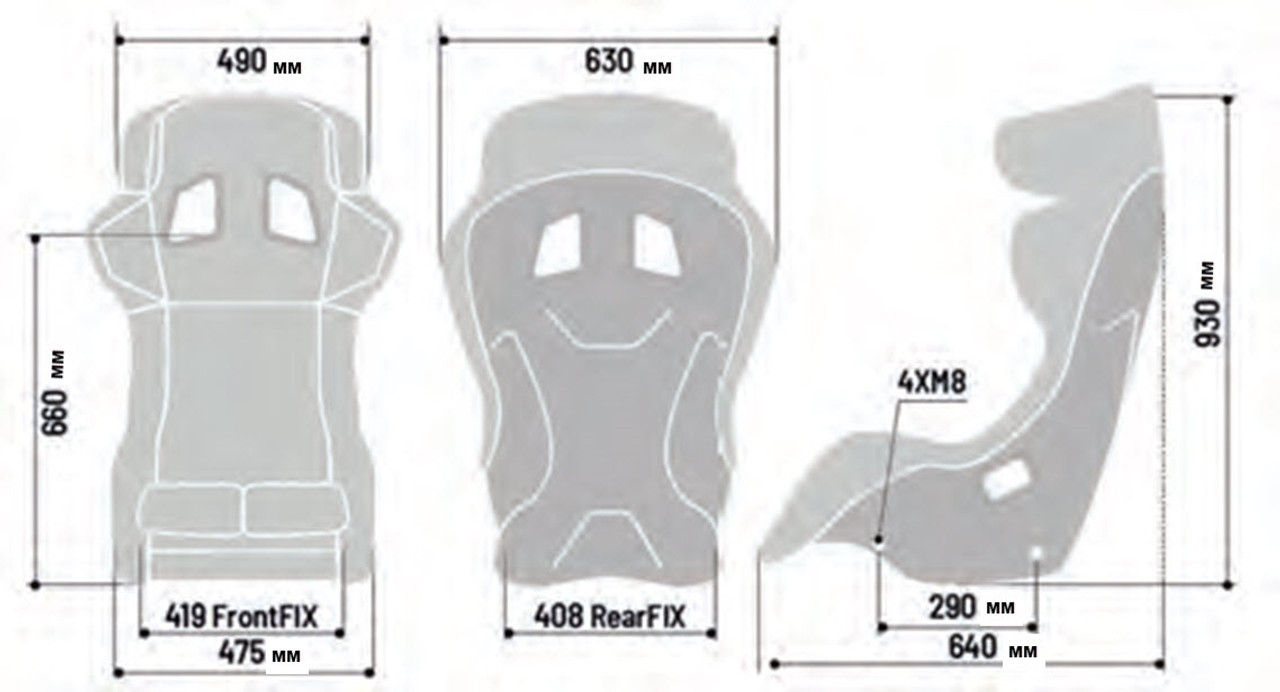 Sparco PRO ADV QRT (2020) Seat