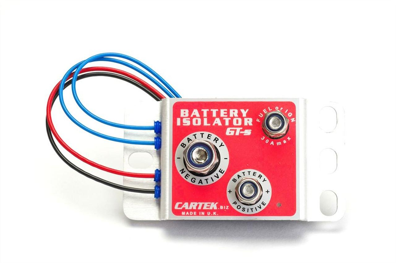 Cartek GT Battery Isolator Kit (Red External Button)