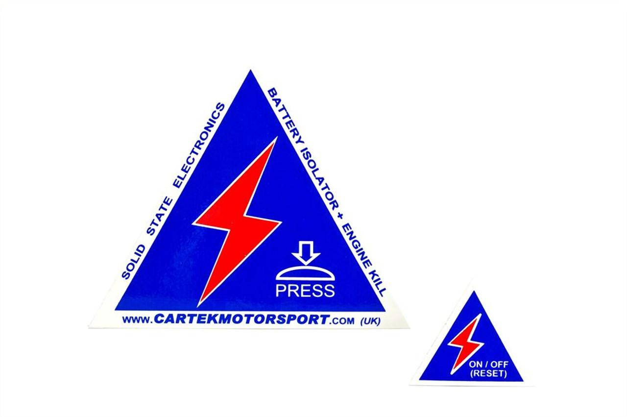 Cartek GT Battery Isolator Kit (Blue External Button)