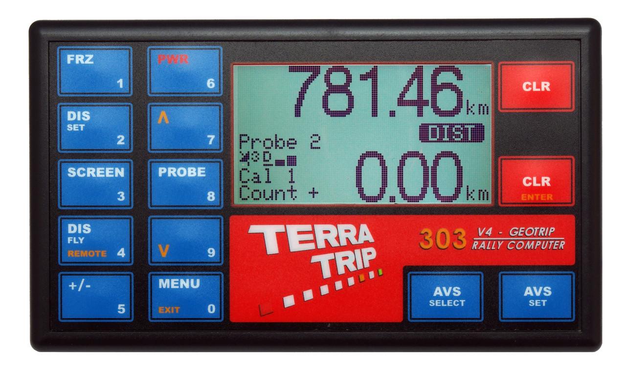 Terratrip Rally Computer Geotrip 303 V4