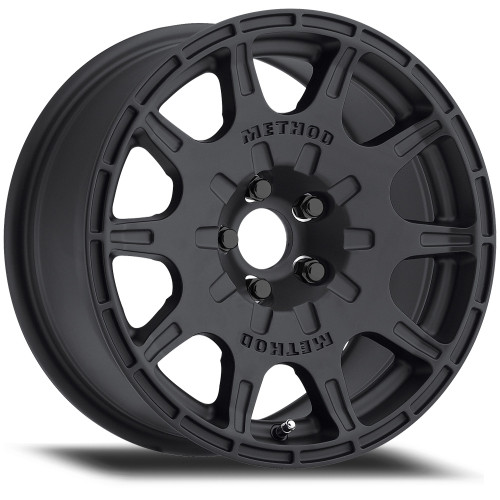 Method Race Wheels MR502 Rally | VT-Spec 15x7 Black