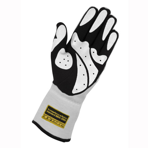 Alpinestars Tech 1 Race Glove - white/black