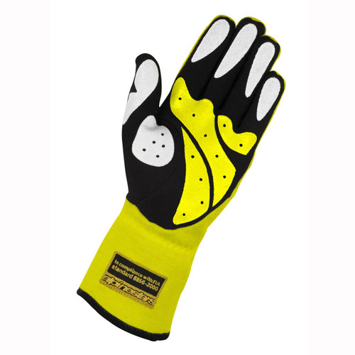Alpinestars Tech 1 Race Glove - yellow fluo/black