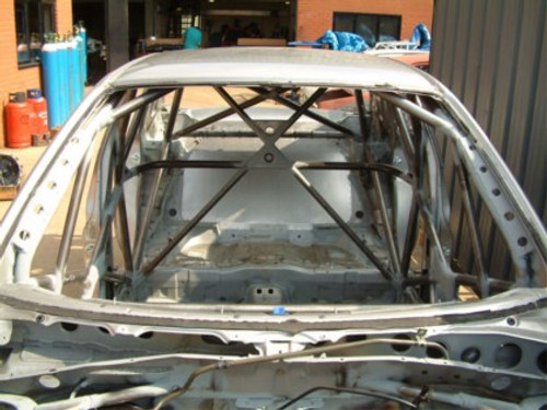 Custom Cages Ford Fiesta Mk7 - Multipoint  [T45]