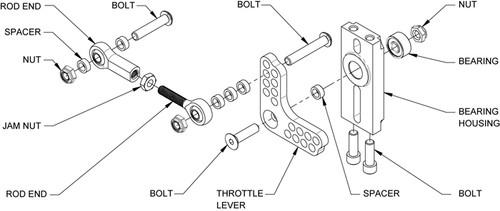 Wilwood Throttle Linkage Kit