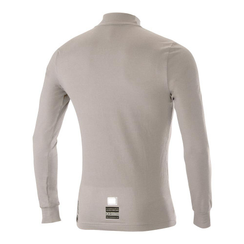 Alpinestars ZX EVO Long Sleeve Top - white/gray