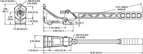 Wilwood Hydraulic Handbrake (horizontal)