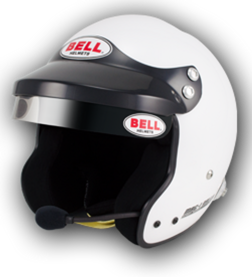 Bell Mag 1 Rally Helmet (white) (size XL 61)-CLEARANCE