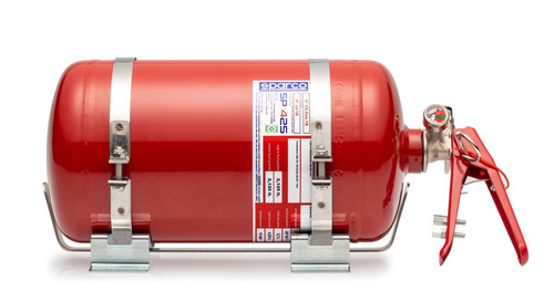 Sparco 4.25L AFFF Mechanical Fire System - FIA