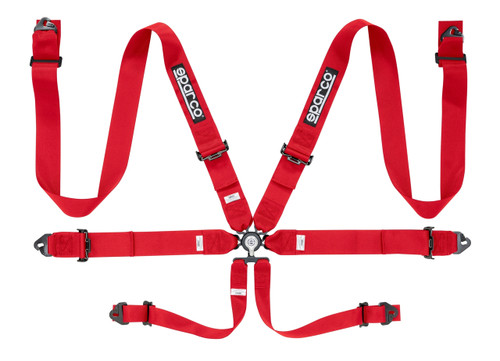 "Sparco 6pt 3"" Steel Harness"