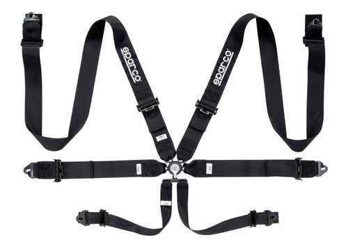"""Sparco 6pt 3"""" Steel Harness"""