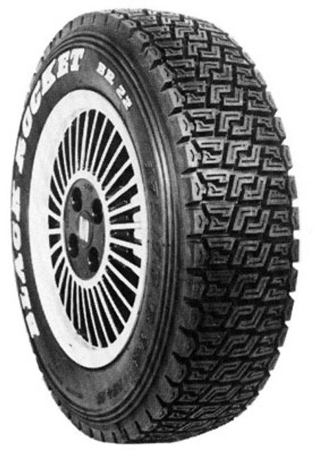 Black Rocket gravel rally tire BR 22 175/70-15  - CLEARANCE