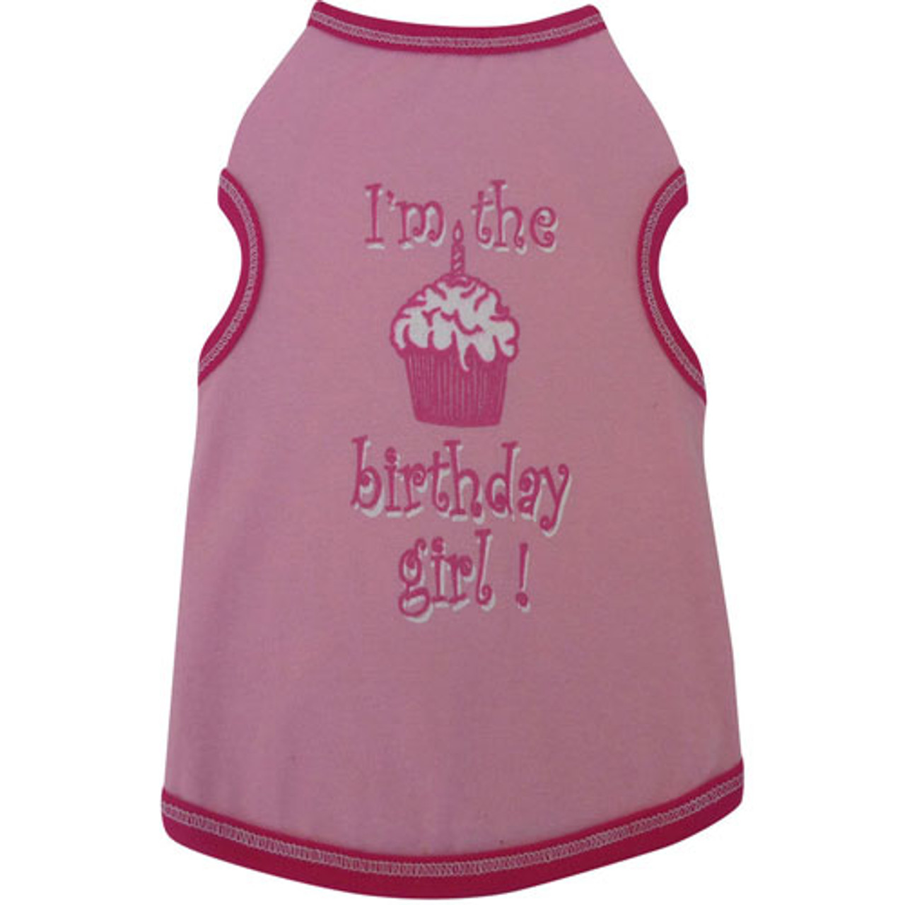 Im The Birthday Girl Dog Tank Top