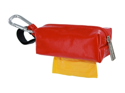 Duffel Dog Waste Bag Holder | Red