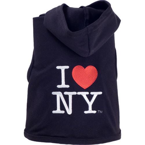 Tee Shirt   I Love NY w/ Hood