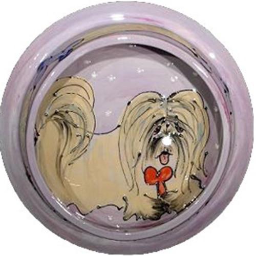 Lhaso Apso Dog Bowl
