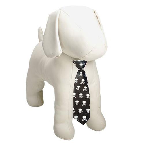 Skulls Dog Necktie