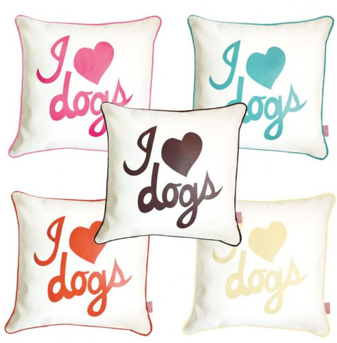 I love Dogs Pillow Sham | 5 Colors