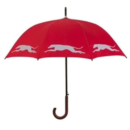 Greyhound Silhouette Umbrella