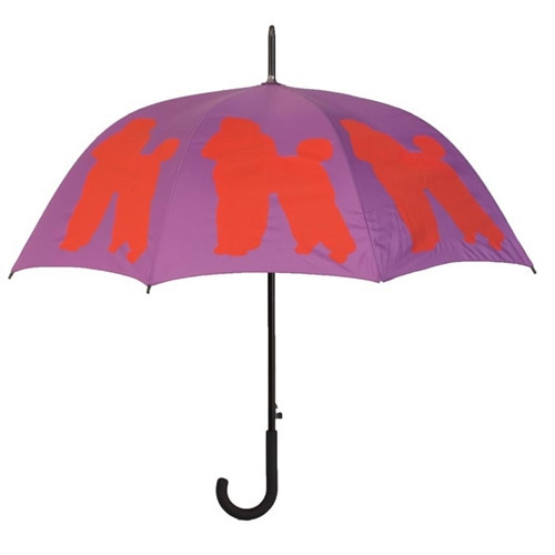 Poodle Silhouette Umbrella