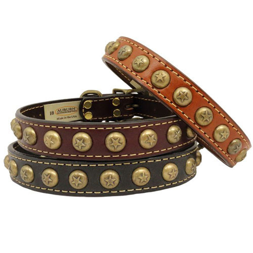 Heirloom Star Dog Collar
