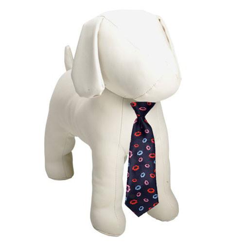 Kisses Dog Necktie