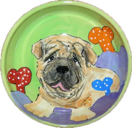 Sharpei Dog Bowl