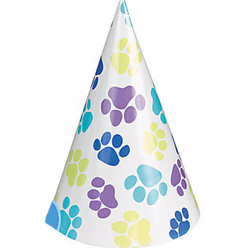 Party Pups Dog Birthday Party Hats  | 8ct