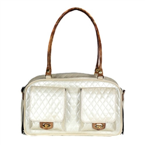 Quilted Marlee Bag | Ivory