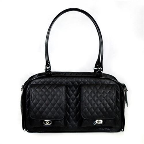 Quilted Marlee Bag | Black