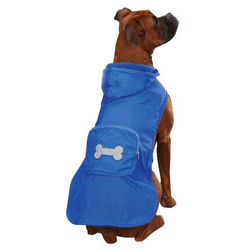 Fleece Lined Rain Jacket | Blue