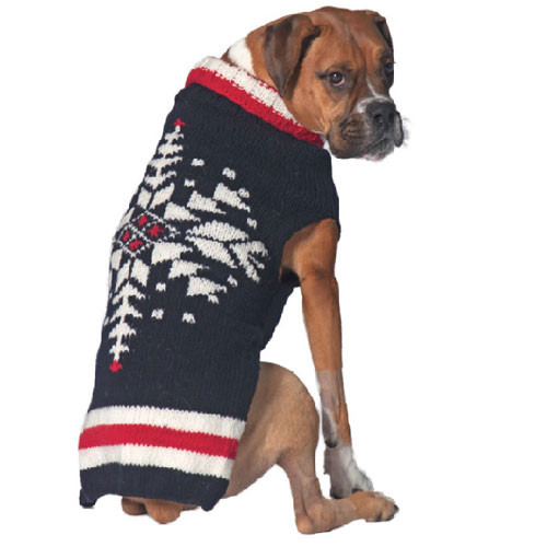 Ski Team Dog Sweater