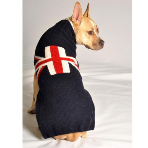 Union Jack Dog Sweater