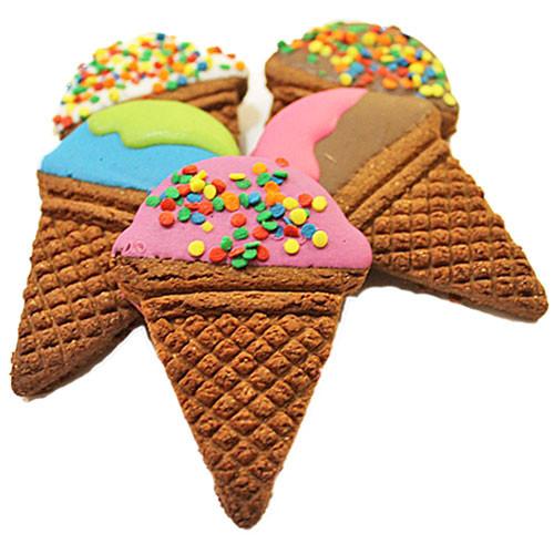 Ice Cream Cone Dog Treats