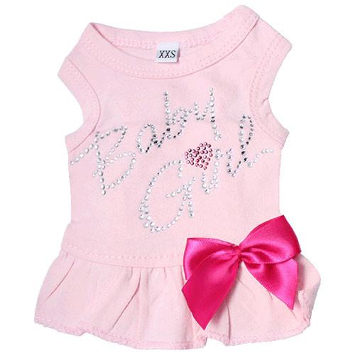Baby Girl Tank Dress | Baby Pink