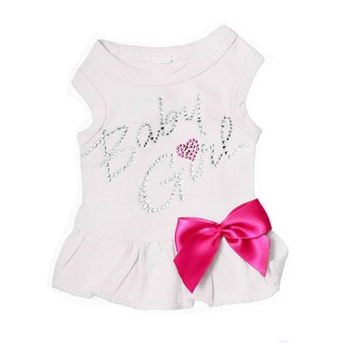 Baby Girl Tank Dress | Baby White