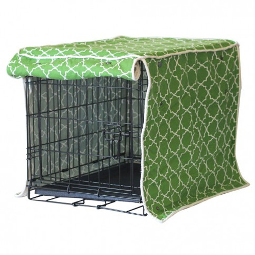 Title Track Dog Crate Cover | 4 Sizes