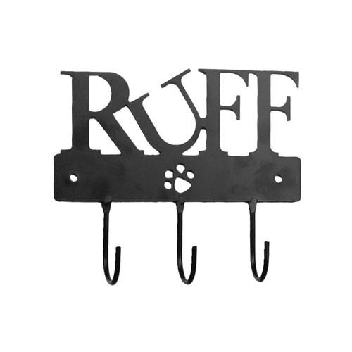 Ruff Triple Leash Hook   Black