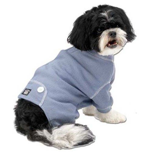 Thermal Dog Pajamas | Blue