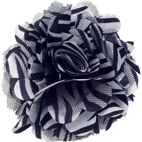 Mesh Zebra Black Collar Bud